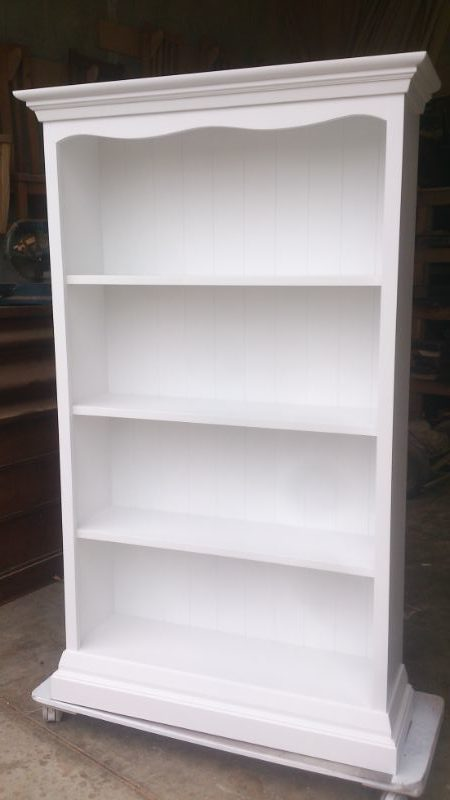 Paint Bookshelf White