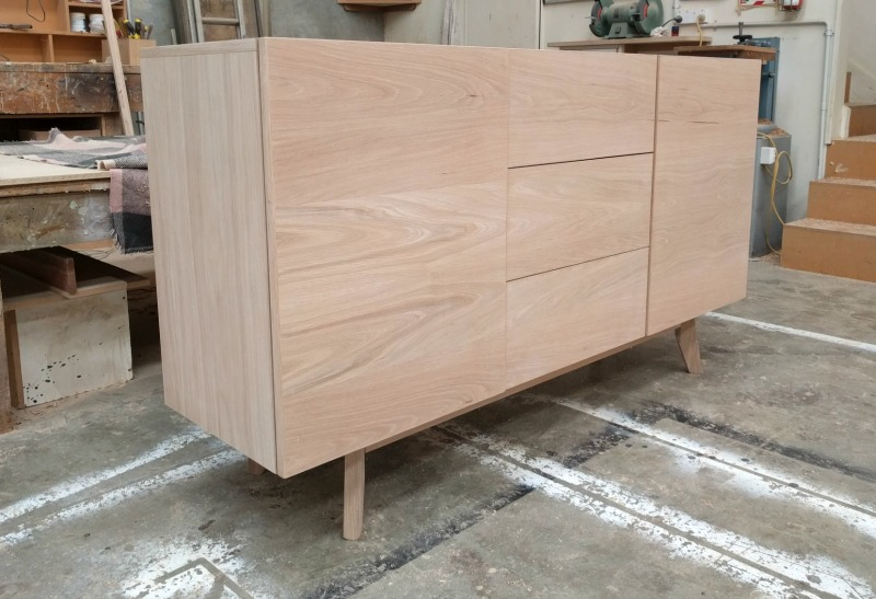 natural oak sideboard