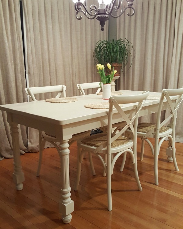 paint finish dining table